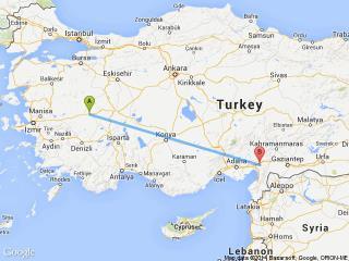Uşak Osmaniye Otobüs Seferleri